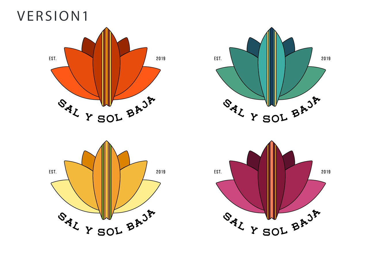 Wow us with a hip logo for Sal y Sol Baja - a boutique surf & yoga resort in Mexico!