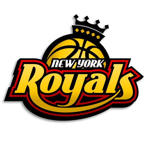 New York Royals Logo Design