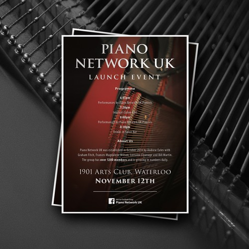 Piano Network UK - Launch Event