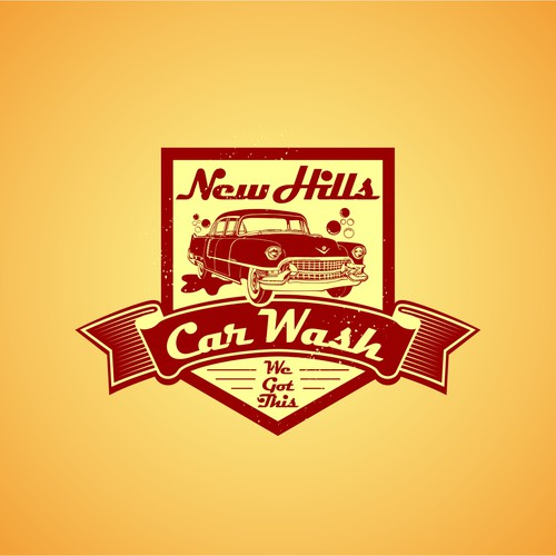 Logo for New Hills Car Wash