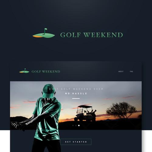 高尔夫周末网站设计