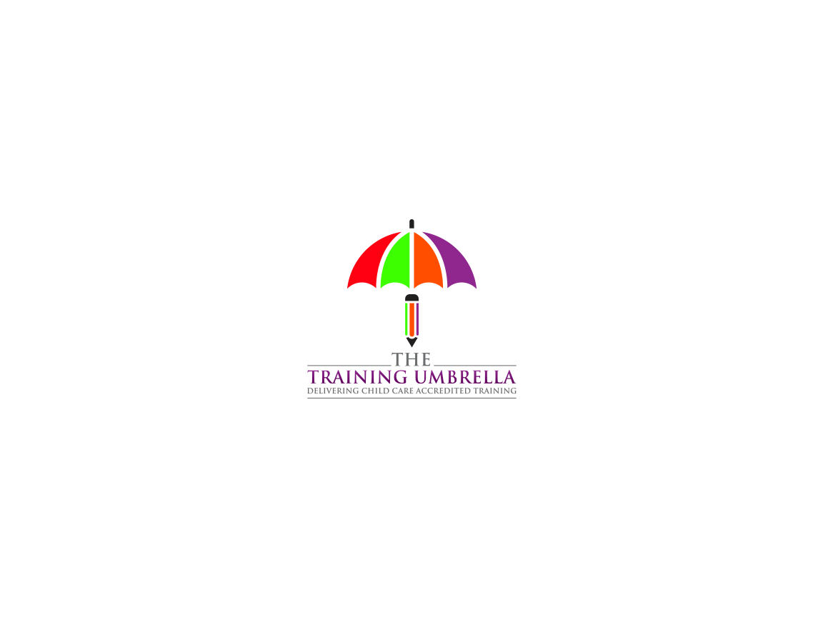 Engage my imagination with the logo design for The Training Umbrella