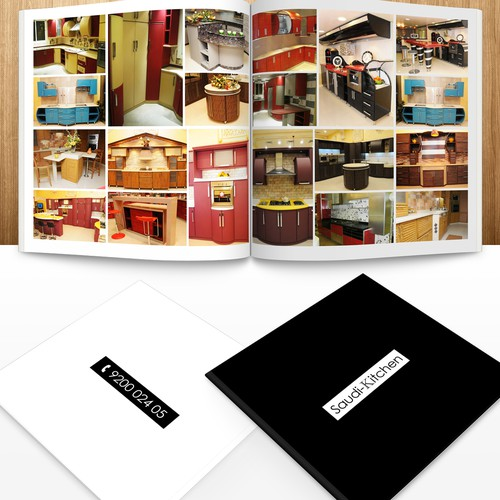Kitchen Cabinet catalogue design