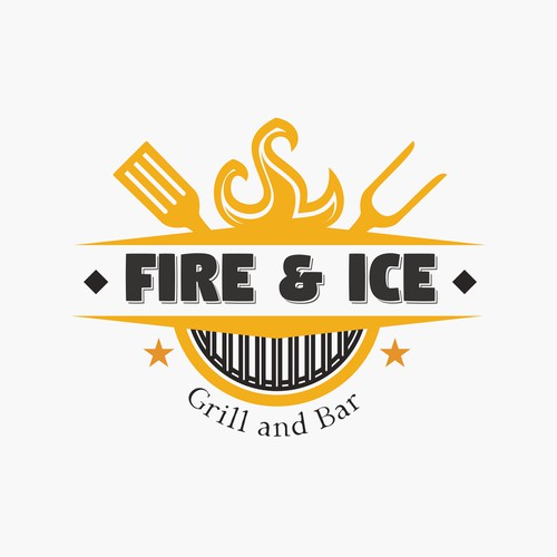 Fire and ice grill restaurant