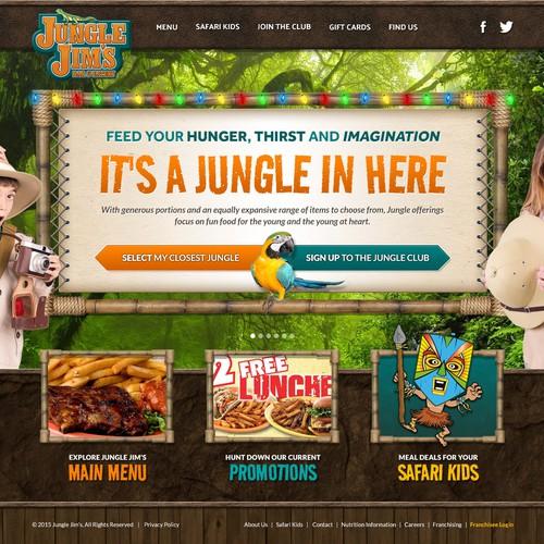 Jungle Jim's Bay & Eatery Concept Design