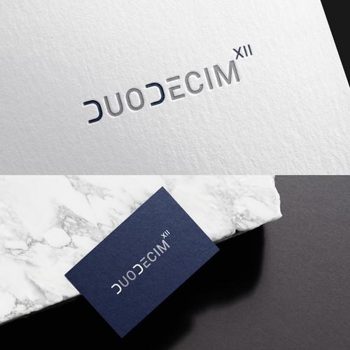"""""""DUODECIM"""" logotype"""