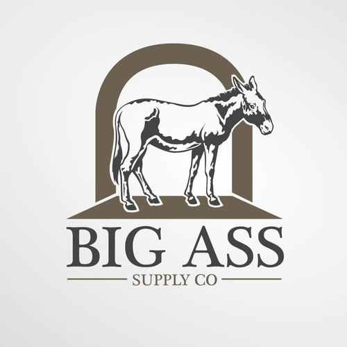 On the hunt for the best damn donkey and logo design ever