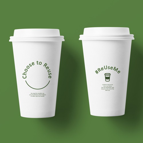 Artwork for a Reusable Cup