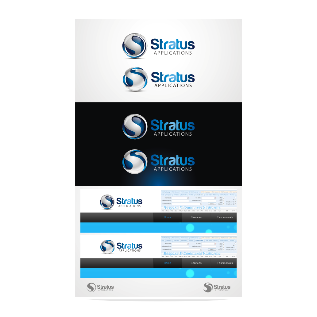 New logo wanted for Stratus Applications