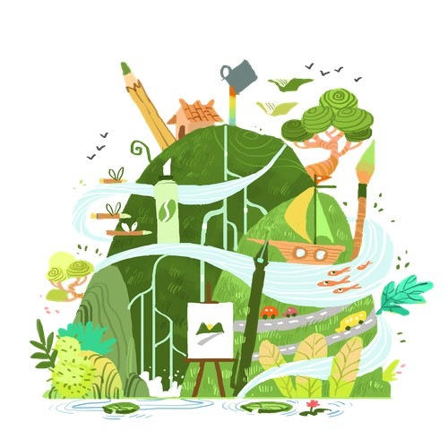 Creative World Illustration