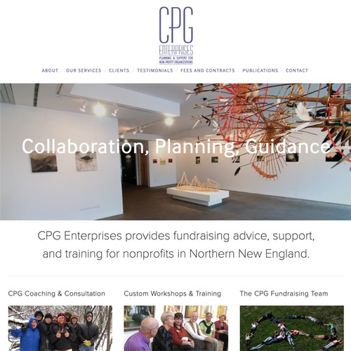 CPG Enterprises Nonprofit Vermont Consulting Firm