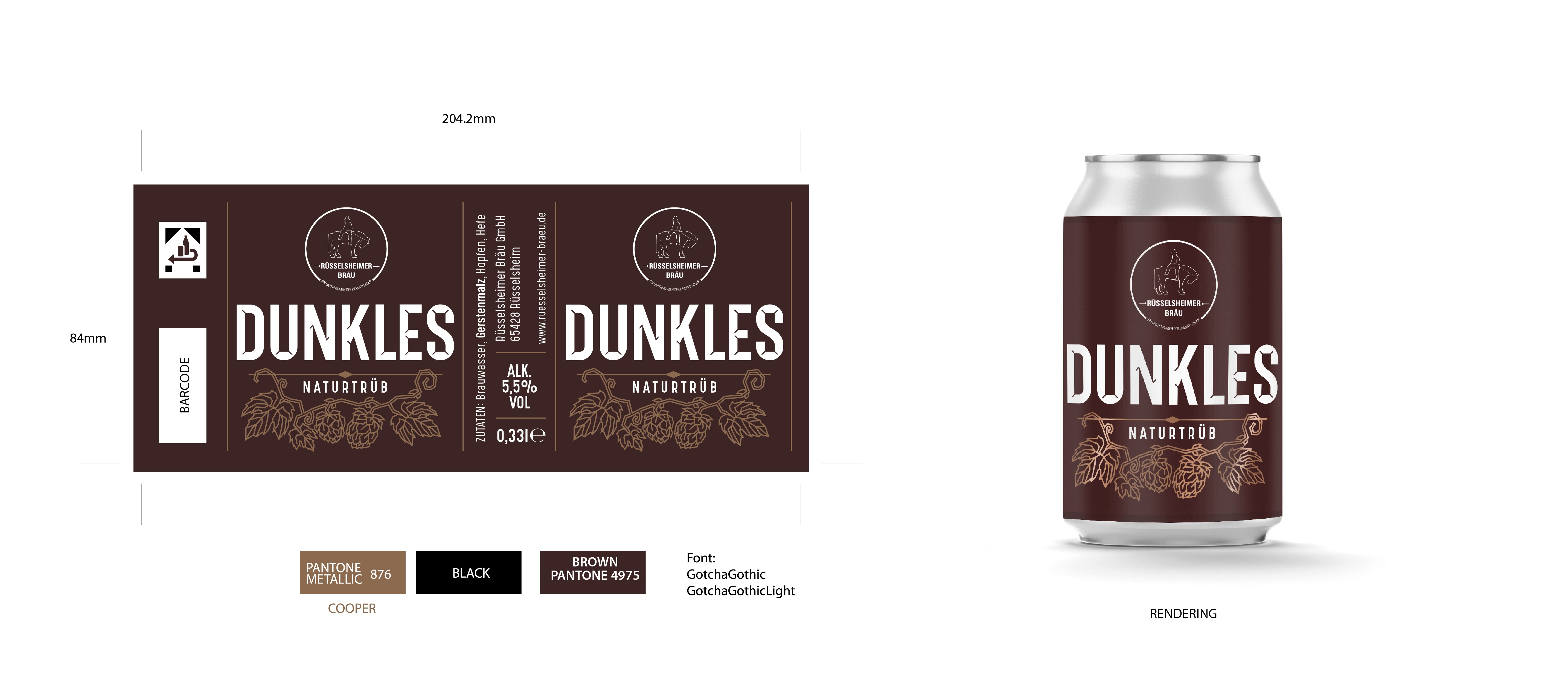 Can Design Dunkles