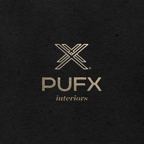 PUFX Interiors Logo Project