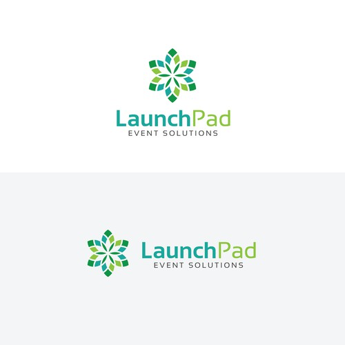 Abstract logo for LaunchPad