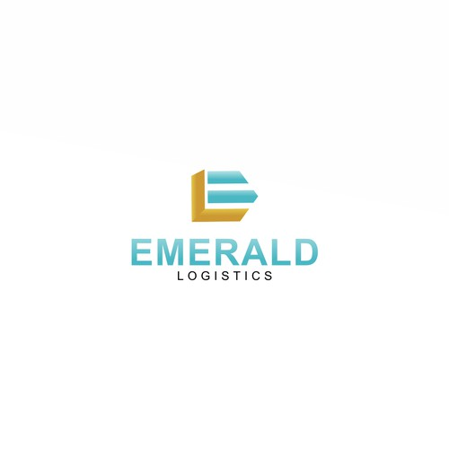 logo concept for EMERALD LOGISTICS