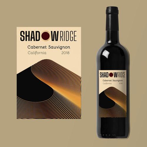 Modern label / logo design for wine brand
