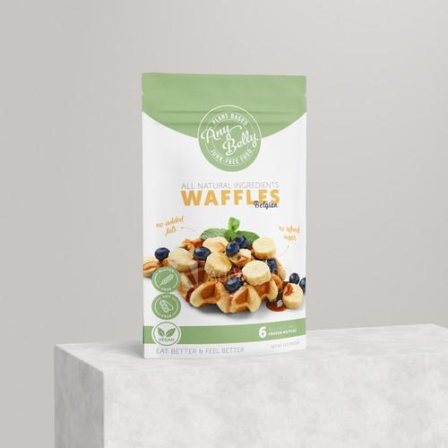 Vegan Waffles Packaging
