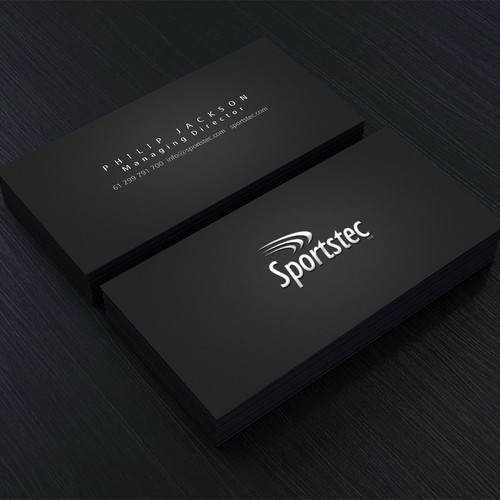 Create an Energetic high performance business card