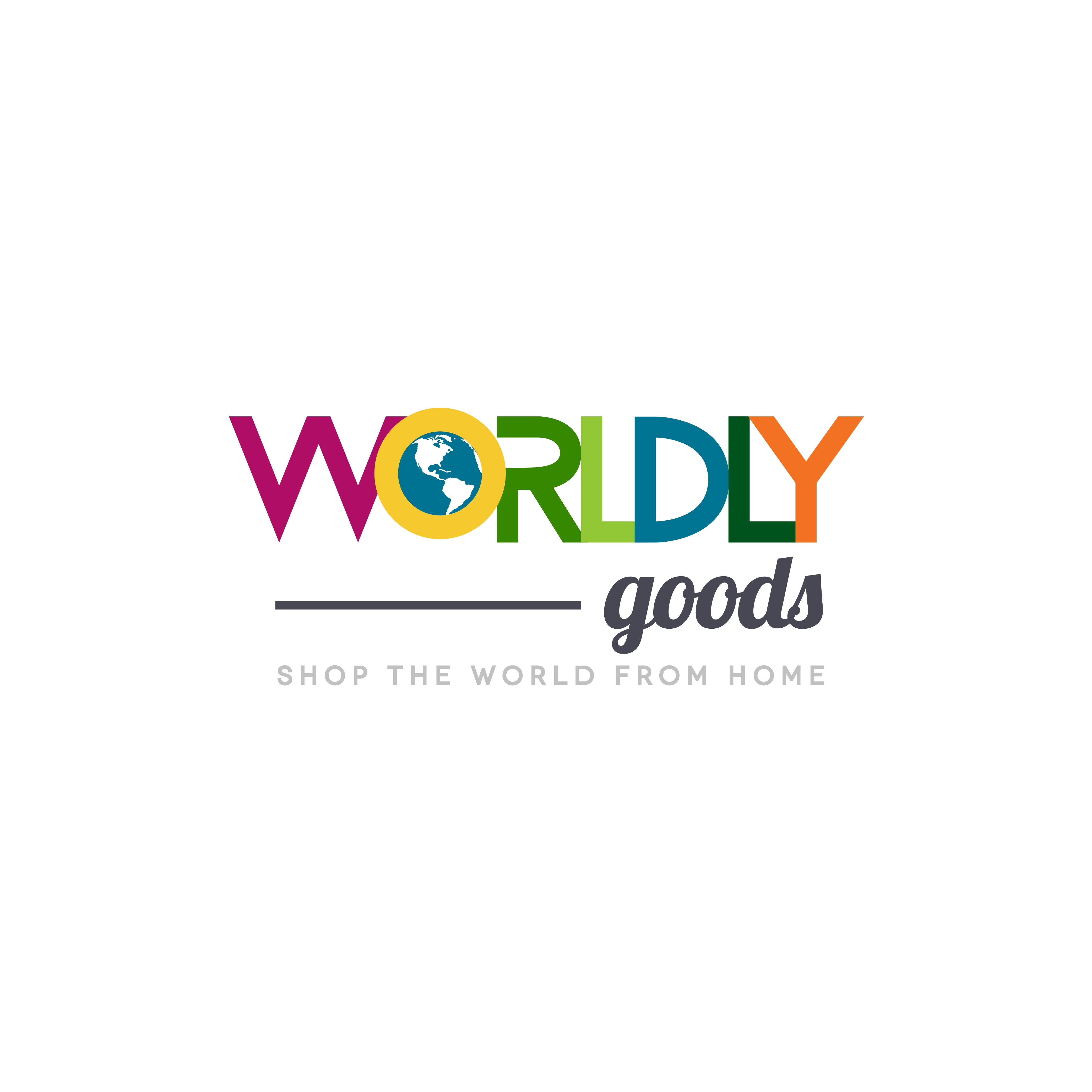 Create a logo and website design for newly created travel souvenir website, Worldly.