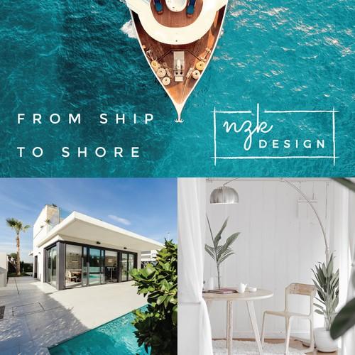 Luxury Interior Design Studio Logo