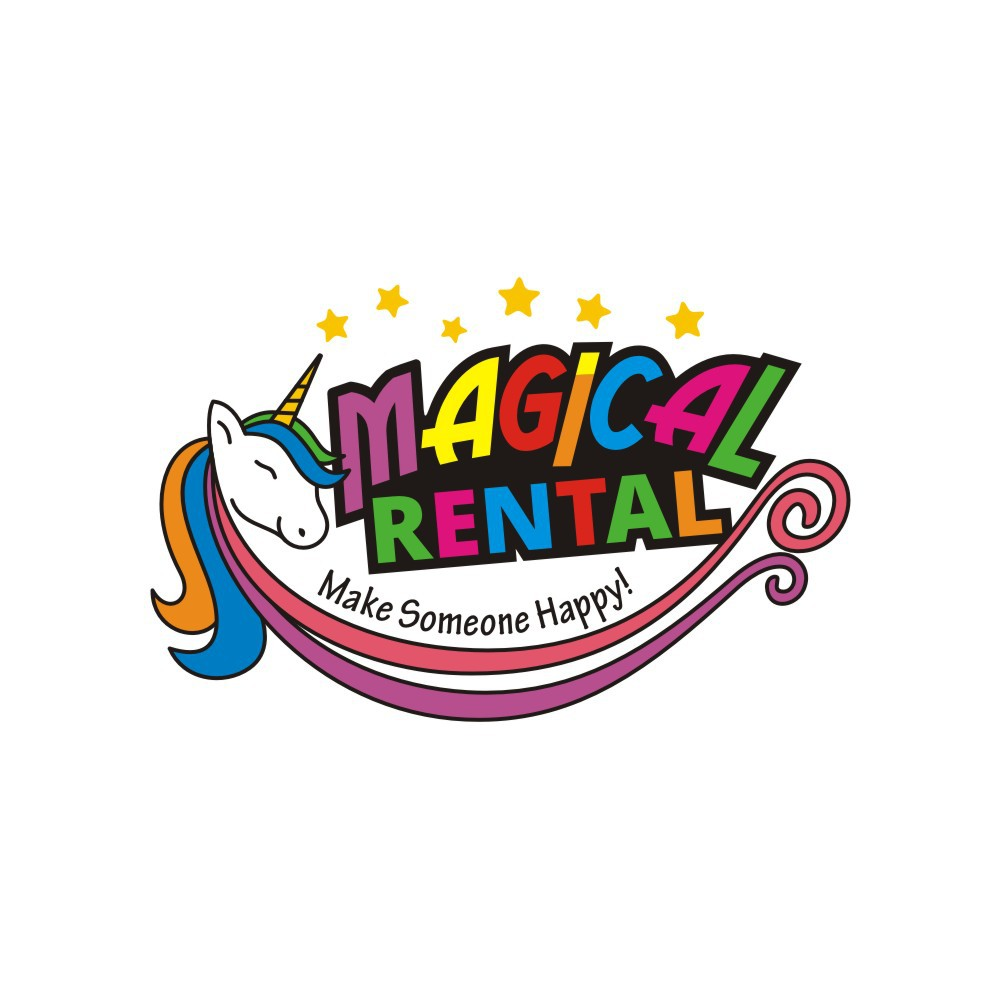 Design a Colorful, Unique, and fun to Look at Logo for Magical Rental!