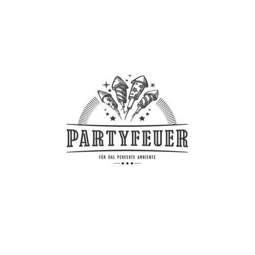 Logo für Partyfeuer