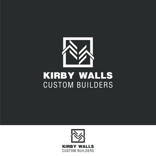 "Bold logo for Custom Builders ""kirbywalls"""