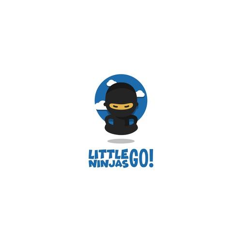 Little Ninjas Go! Logo