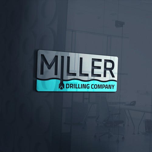 Logo concept for Miller Drilling Company