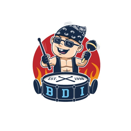 Bad Ass Rock Star Baby Logo