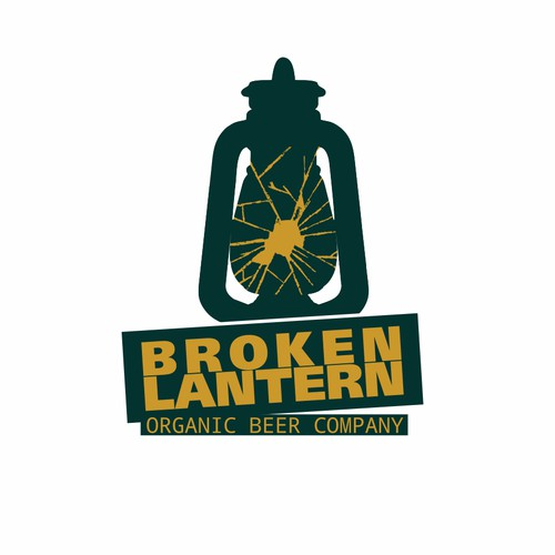 Broken Lantern Organi Beer Company logo suggestion