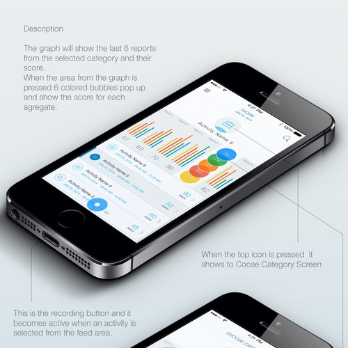Wearables App: Cognitive health & wellness tracking