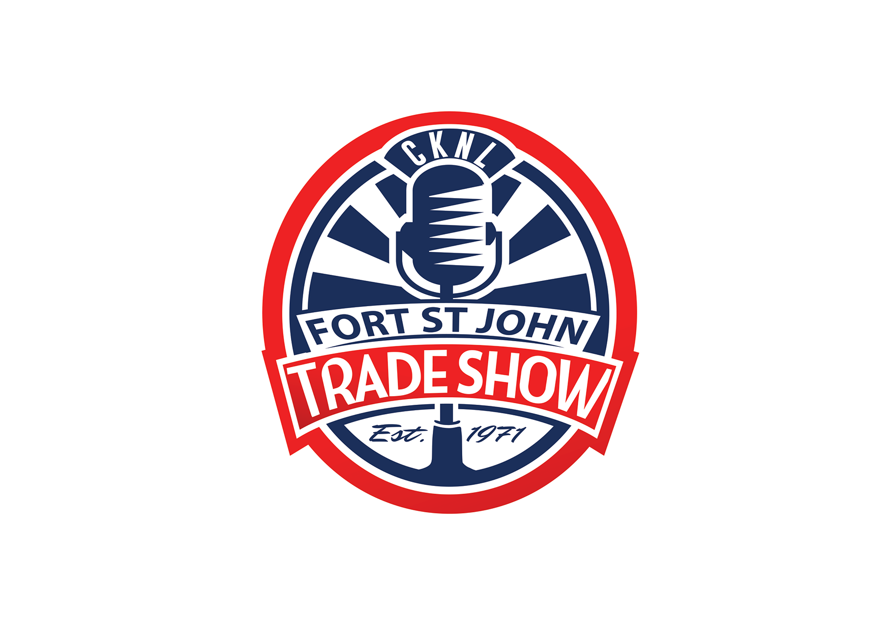 Fort St. John Trade Show needs a vibrant new look - we're 43 years young and need a new identity