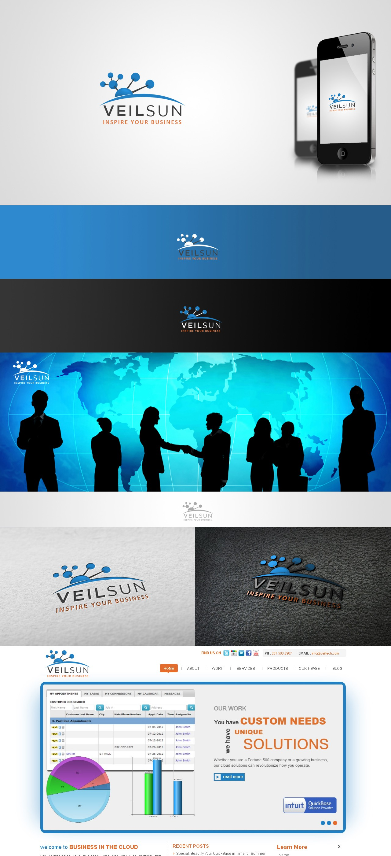 Help Veilsun with a new logo