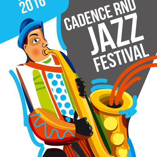 Jazz Festival illustration