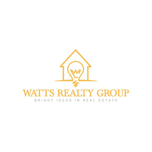 An electrifying logo to represent an energetic Realtor!