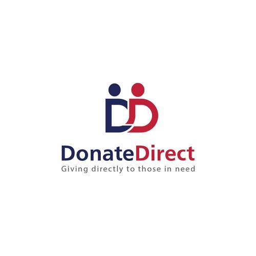 Logo design for Donate Direct
