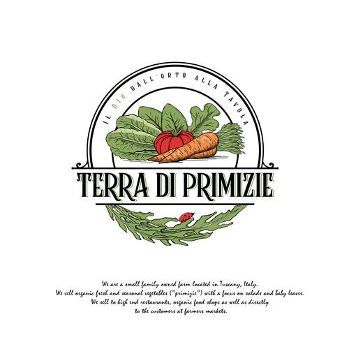 Logo concept for TERRA DI PRIMIZIE