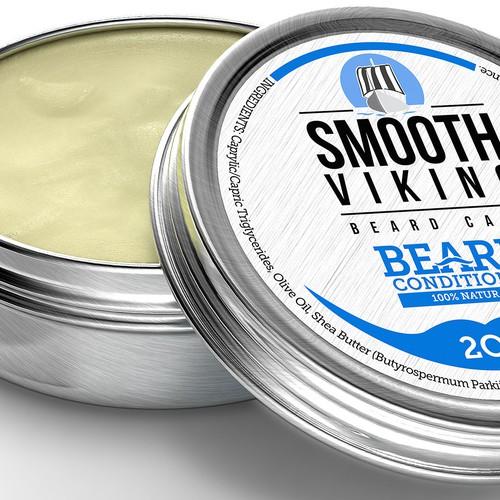Beard Conditioner 3D Rendering