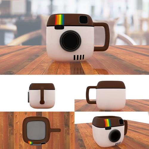 3d mug camera