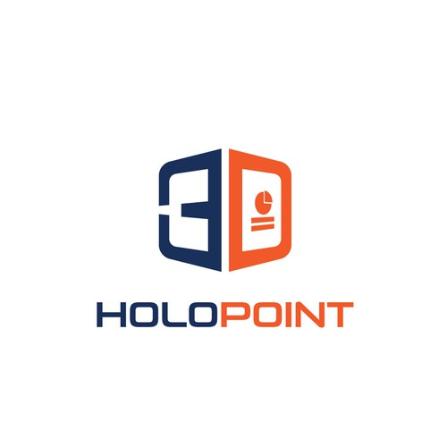 Winning design for Holo Point logo contest.