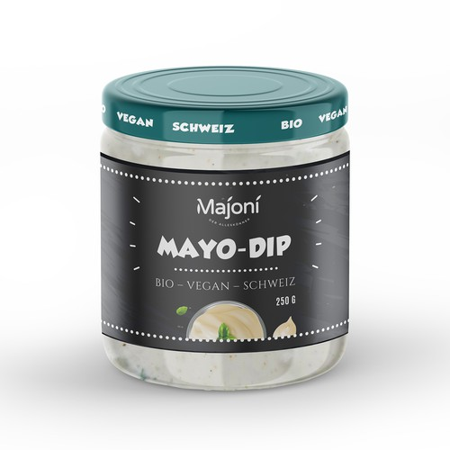 Packaging design for Mayo Dip