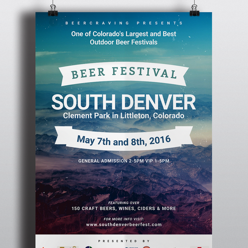 Poster Design for a Beer Festival