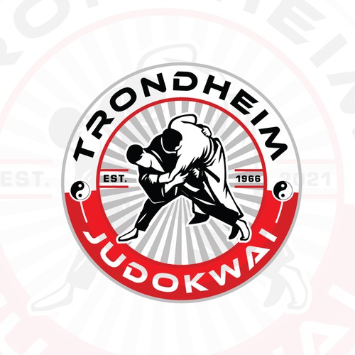Trondheim Judokwai Logo Design