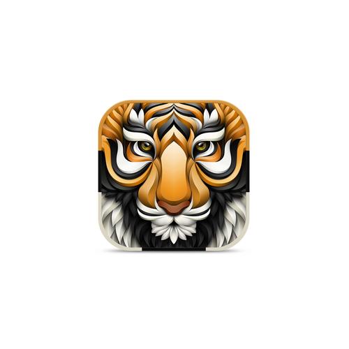 3D Tiger for Fitness App
