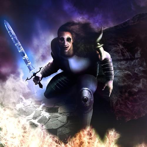 Demon knight warrior