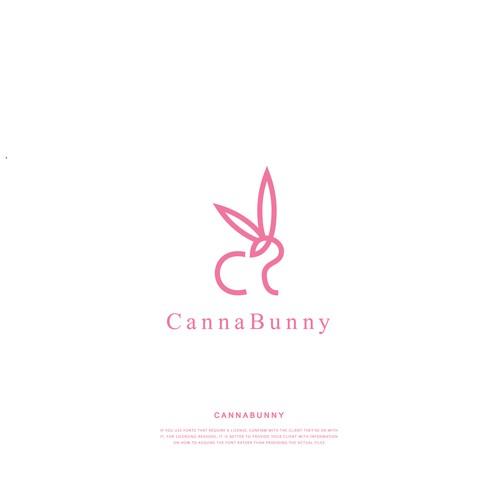 Logo concept for CannaBunny