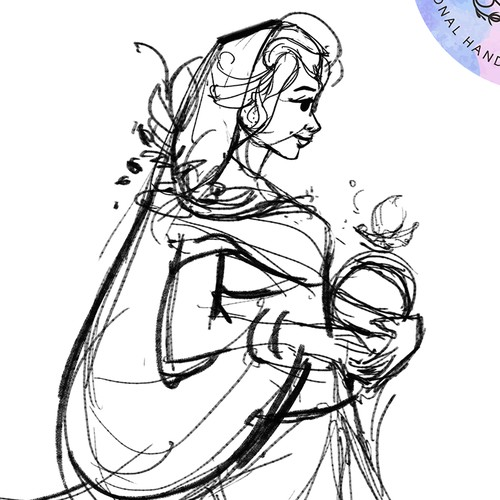 concept for indian princess