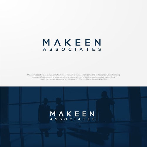 Makeen Associates Logo Design