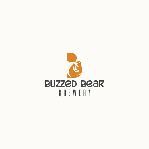 Logo concept for Buzzed Bear Brewery